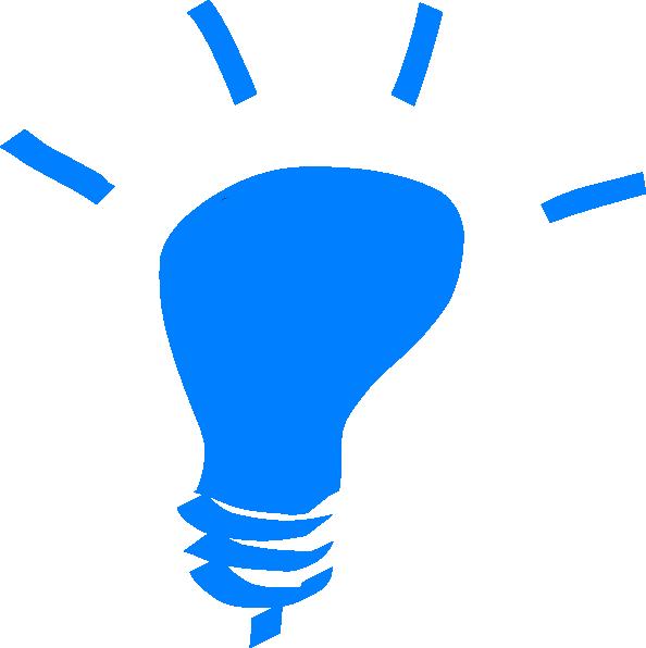 Blue Light Bulb Clip Art At Vector Clip Art Online Royalty Free Public Domain