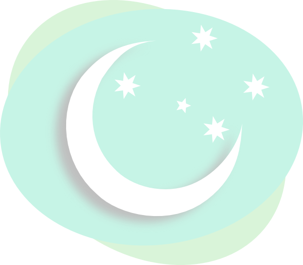 free clip art moon and stars - photo #28
