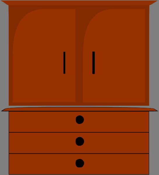Dresser Clip Art at Clker.com - vector clip art online ...