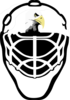 Eagle Hockey Mask Clip Art