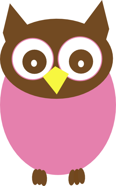 pink owl clip art at clker com vector clip art online royalty rh clker com pink and purple owl clip art pink and brown owl clip art