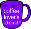 Cld Mug Sign Clip Art