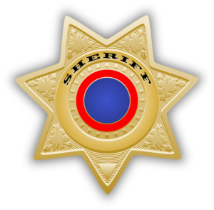 Sheriff Star Clip Art at Clker.com - vector clip art online ...