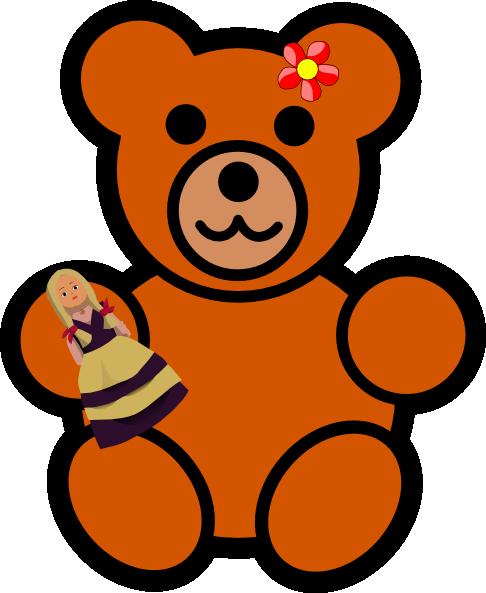 sister bear clip art at clker com vector clip art online royalty rh clker com Retro Bear Clip Art Brother Bear Clip Art Words