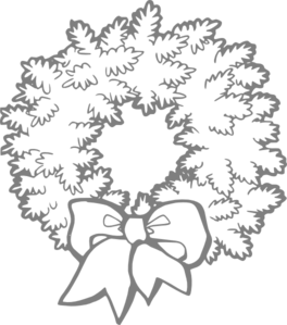 Wreath 3 Clip Art