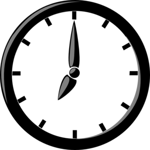 Clock For Presentation Clip Art