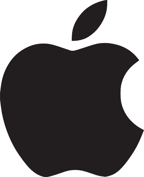 apple logo clipart - photo #2
