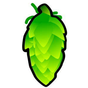 Hop Cone Illustration Clip Art