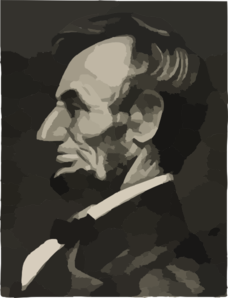 Abraham Lincoln Without Beige Background Clip Art