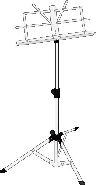 Music Stand Clip Art At Clker Com Vector Clip Art Online