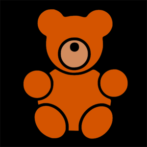 Pitr Teddy Bear Icon Clip Art