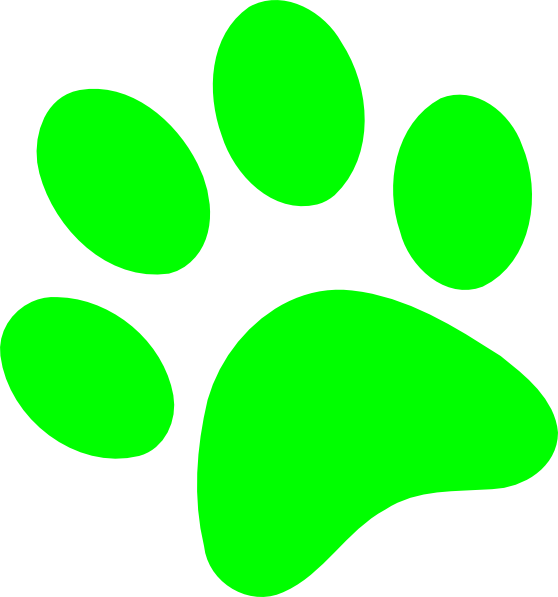 green dog clipart - photo #32