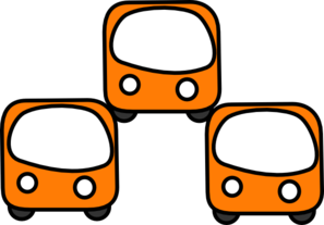 Nearby Buses Clip Art
