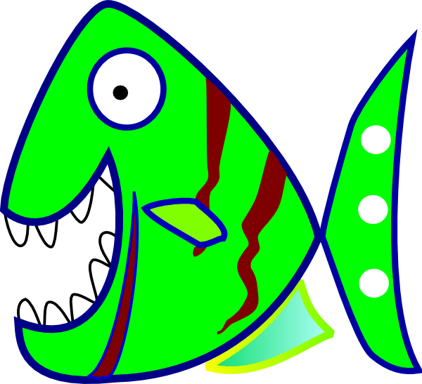 Green Fish Clip Art at Clker.com - vector clip art online ...