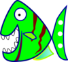 Green Fish Clip Art
