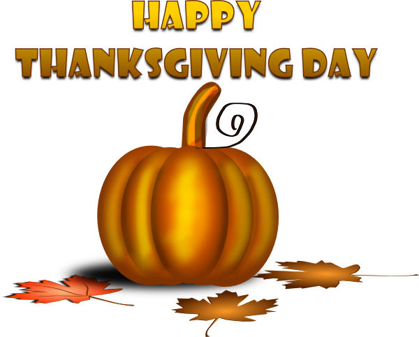 happy thanksgiving clip art - photo #1