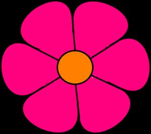 pink flower 2 clip art at clker com vector clip art online rh clker com lotus flower images clipart flower clipart images outline