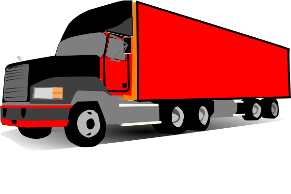 truck 18 wheeler trucker clip art at clker com vector clip art rh clker com 18 wheeler clip art free