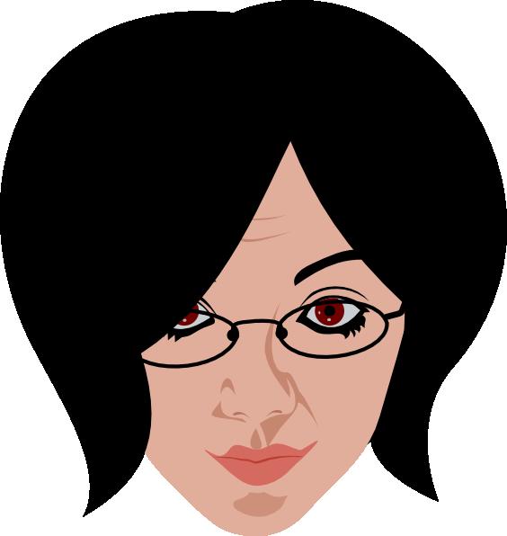 Woman Smiling Clip Art at Clker.com - vector clip art ...