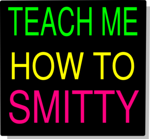 Smitty Teach Clip Art