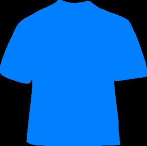Sky Blue Shirt Clip Art