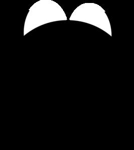 Black Devil Horns Clip Art at Clker.com - vector clip art online ...