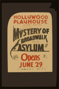 C.e. Reynolds  Mystery Of Broadwalk Asylum  Clip Art