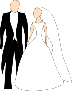 bride and groom clip art at clker com vector clip art online rh clker com bride and groom cartoon free bride and groom cartoon free