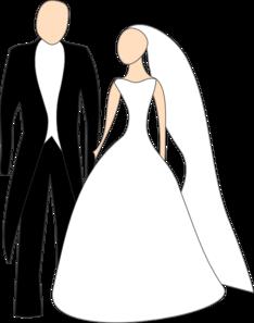 bride and groom clip art at clker com vector clip art online rh clker com wedding bride and groom clipart free free funny bride and groom clipart