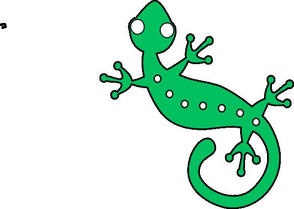 green gecko clip art at clker com vector clip art online royalty rh clker com cute gecko clipart gecko clipart black and white
