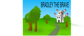 Bradley The Brave Front Cover Clip Art