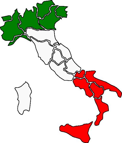 Map Of Italy Clip Art at Clker.com - vector clip art online ...