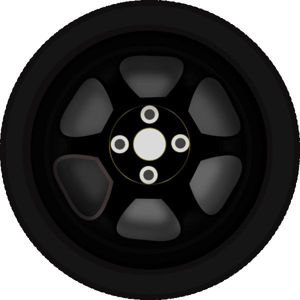 wheel 3 clip art at clker com vector clip art online royalty free rh clker com wheel clip art images wheels clipart gif