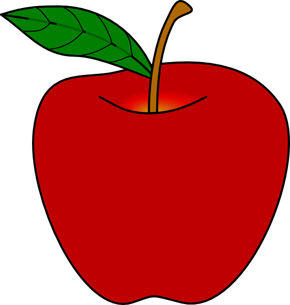 clipart picture of apple - photo #4