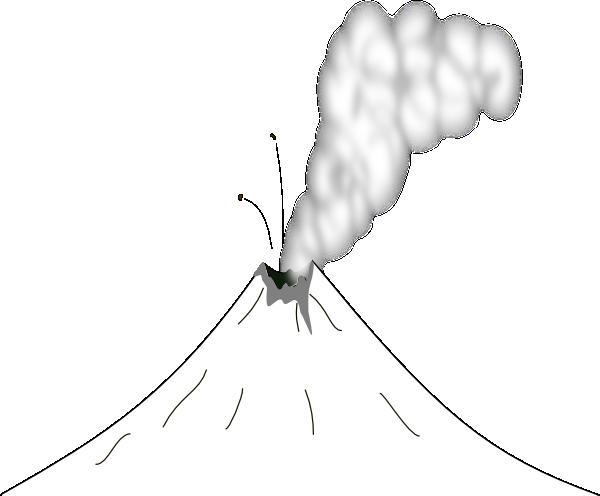 Volcano clip art vector clip art online royalty free amp public