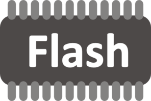 Flash Memory Clip Art