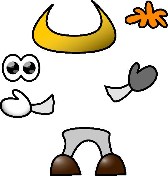 cow parts clip art at clker com vector clip art online royalty rh clker com