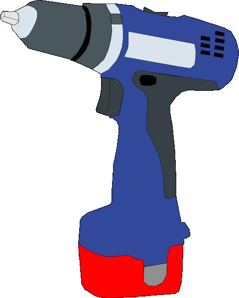 Power Drill Bit Clip Art : Drill makita clip art at clker vector