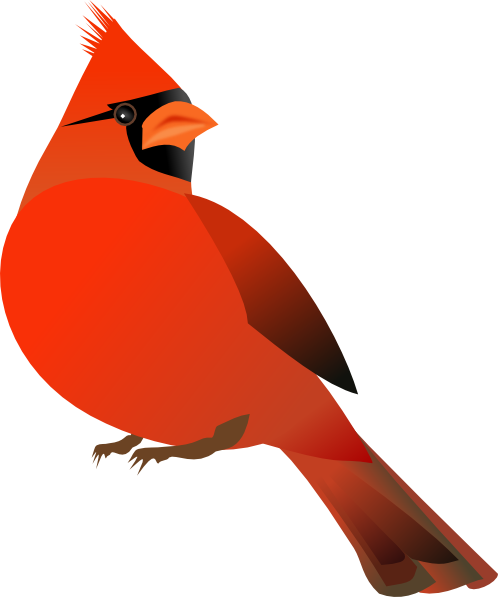 Red Cardinal Clip Art. Red Cardinal · By: OCAL 5.5/10 1 votes