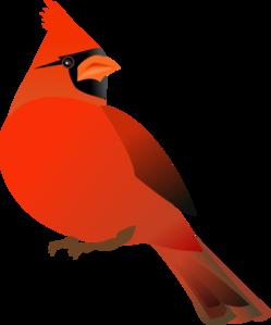 red cardinal clip art at clker com vector clip art online royalty rh clker com free red cardinal clipart