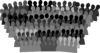 Crowd Black And White Clip Art