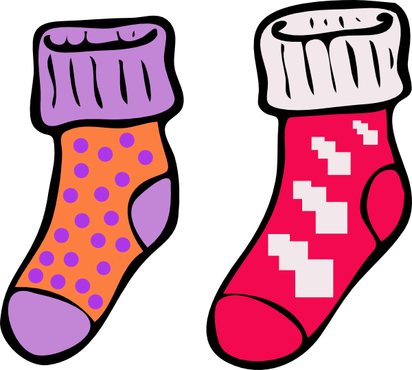 Go Back > Gallery For > Silly Socks Clip Art