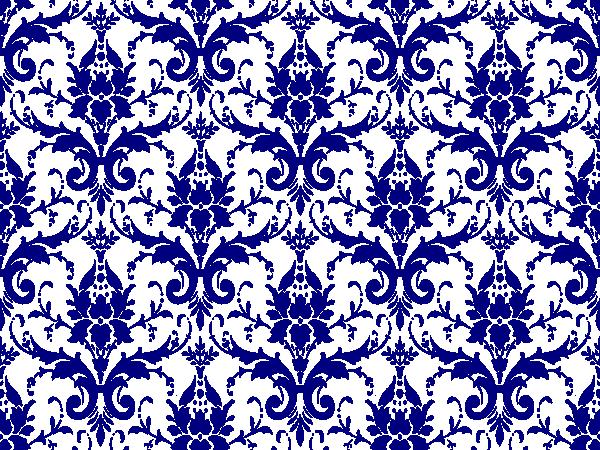 Dark Blue Damask Wallpaper: Tiffany Blue Damask Full Page Clip Art At Clker.com