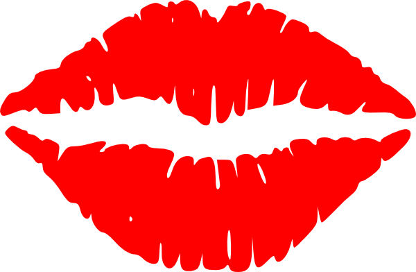 kissing lips clip art at clker com vector clip art online royalty rh clker com kissing lips clipart black and white kissing lips clipart