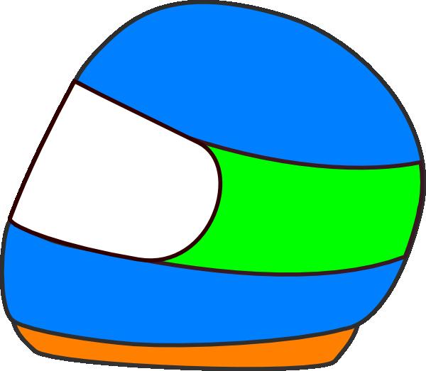 racing car helmet clip art at clkercom vector clip art