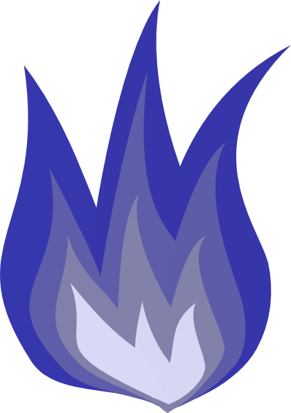 Tropical blue flame 2 icon - Free tropical blue flame icons  Blue Flames Clip Art