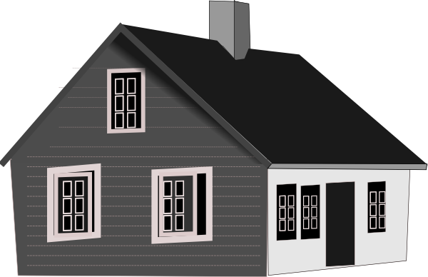 Cape Code House Clip Art At Clker