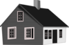 Cape Code House Clip Art