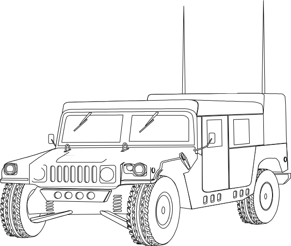 hummer coloring pages to print - photo#21