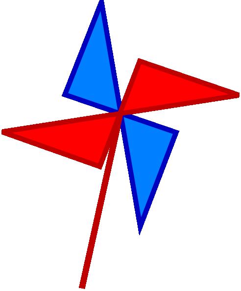 Pinwheel Clip Art at Clker.com - vector clip art online, royalty free ...